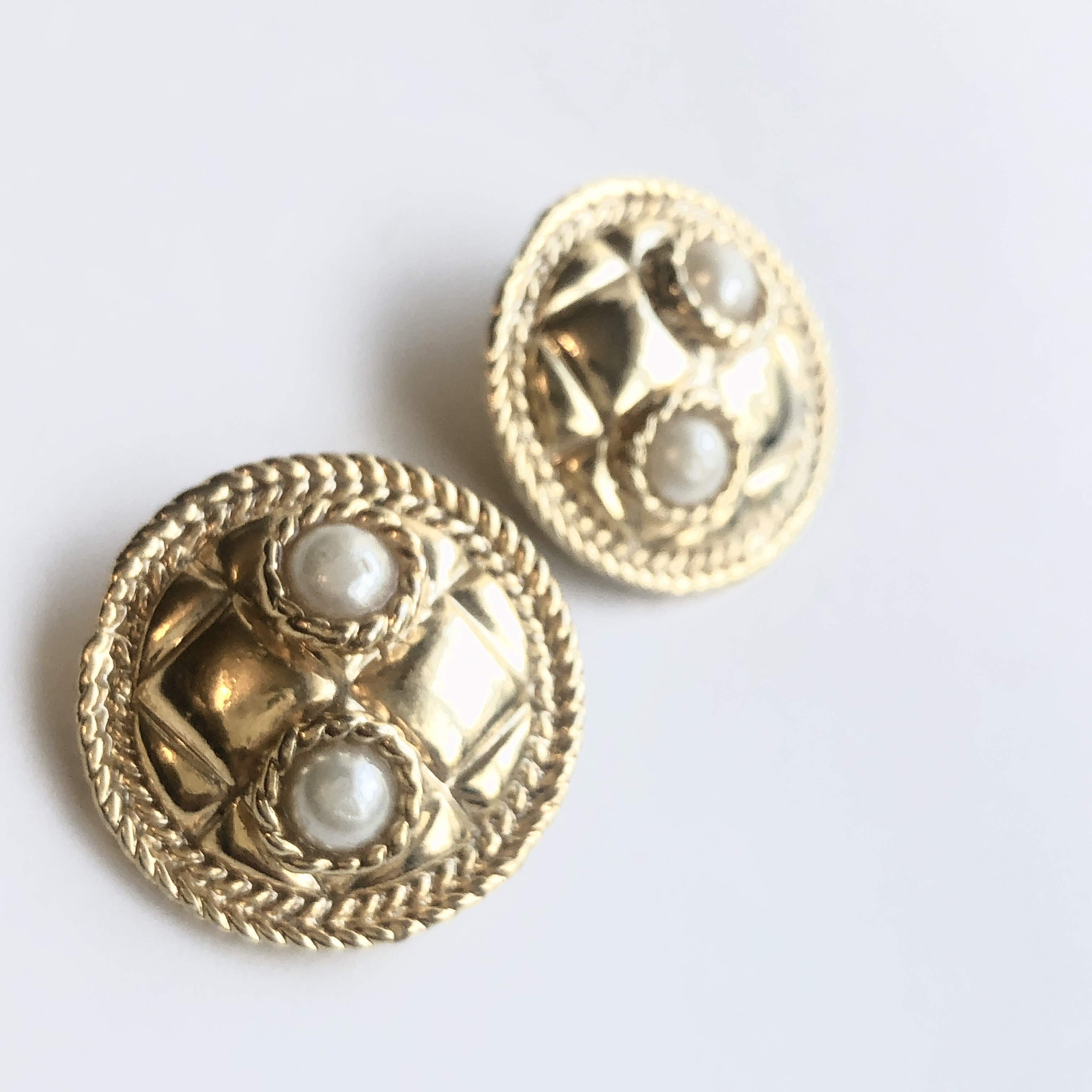 Vintage earrings X-016 *B