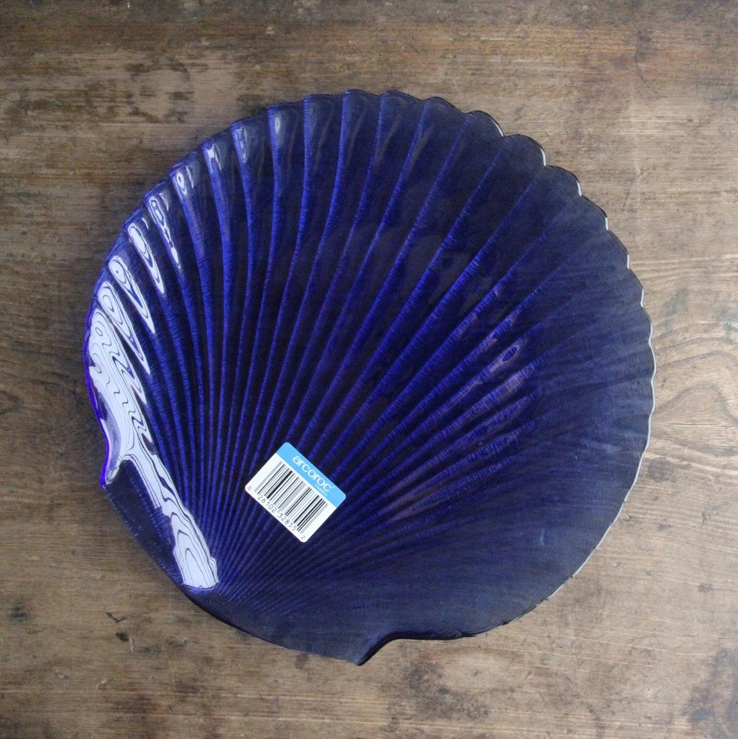 アルコロック 貝殻の形をしたお皿