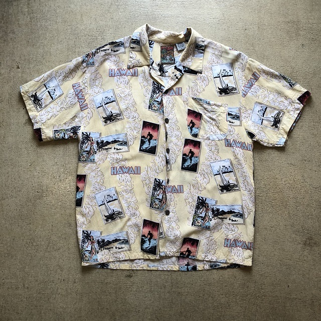 PINEAPPLE CONNECTION ALOHA SHIRT #TP-374