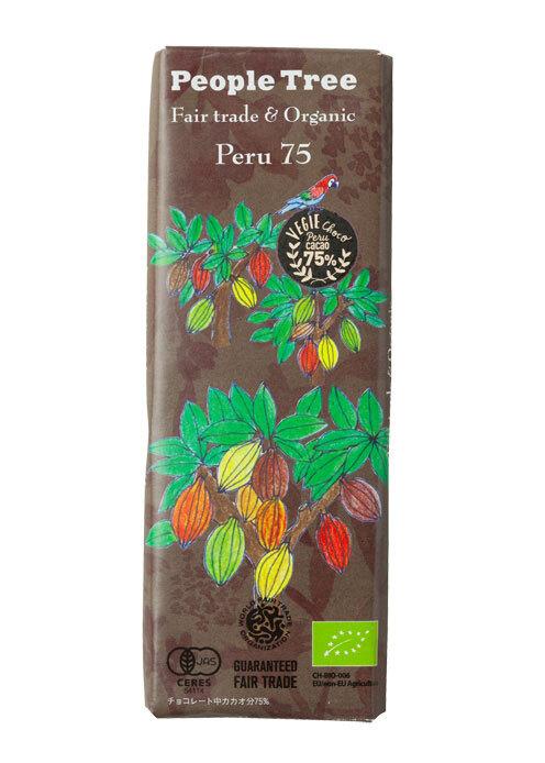 PTフェアトレードチョコレート・ペルー75