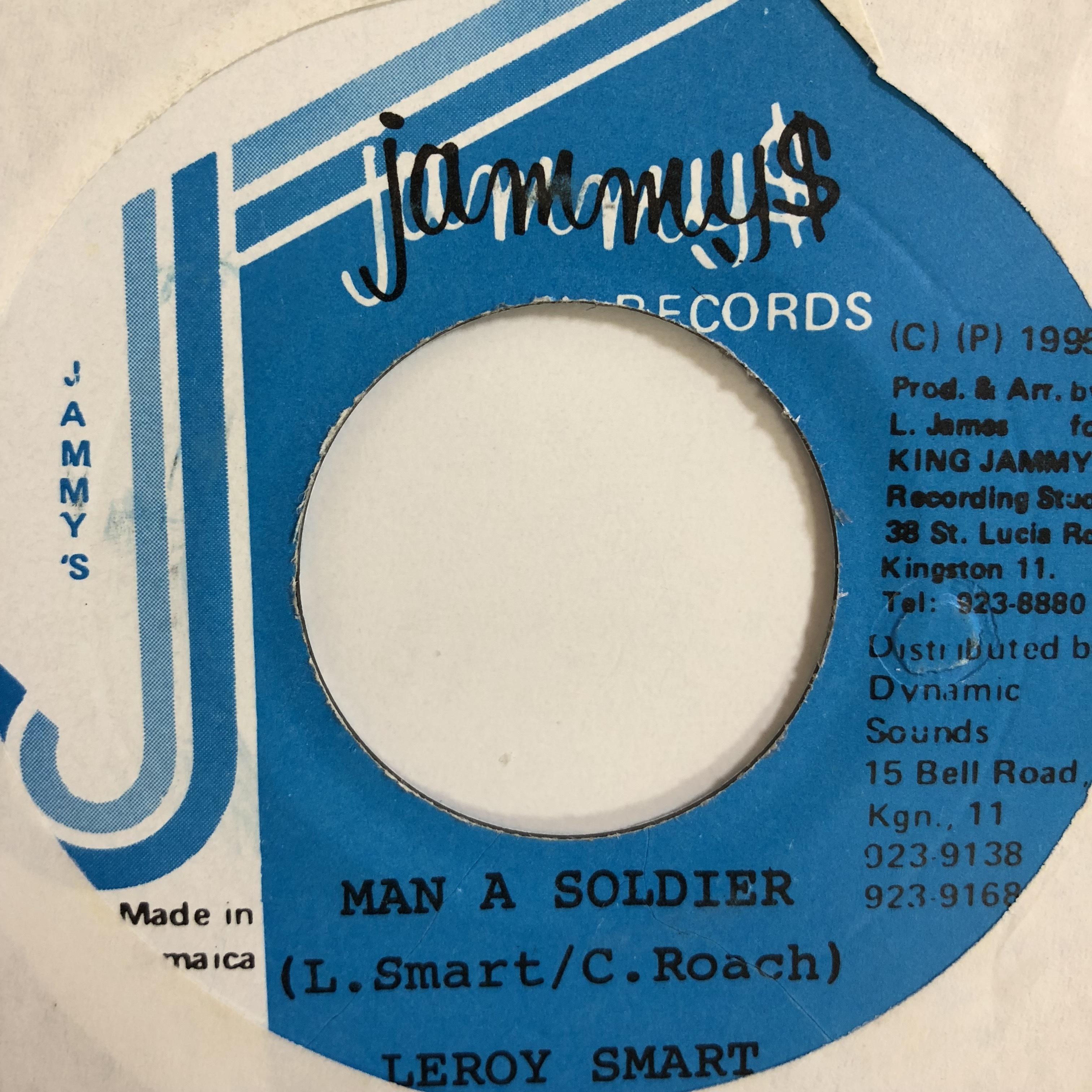 Leroy Smart(リロイスマート) - Man A Soldier 【7-10752】