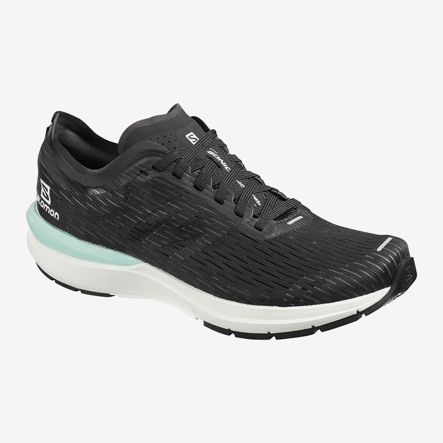 Salomon サロモン ウィメンズ Women SONIC 3 ACCELERATE W L40974600  Black / White / Quiet Shade