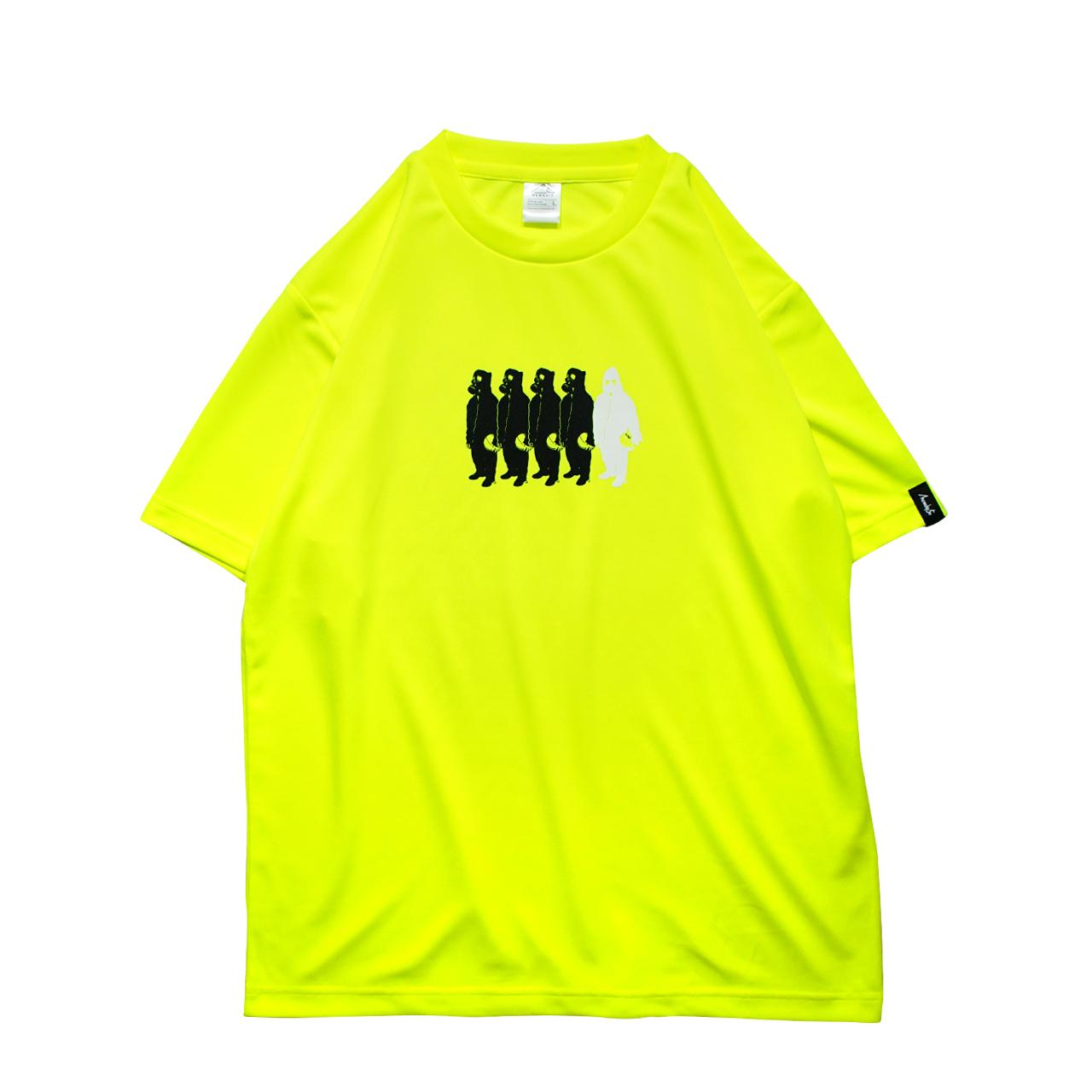 Little MICKYS 019 S/S PL <F.Yellow×Black×White > - 画像1