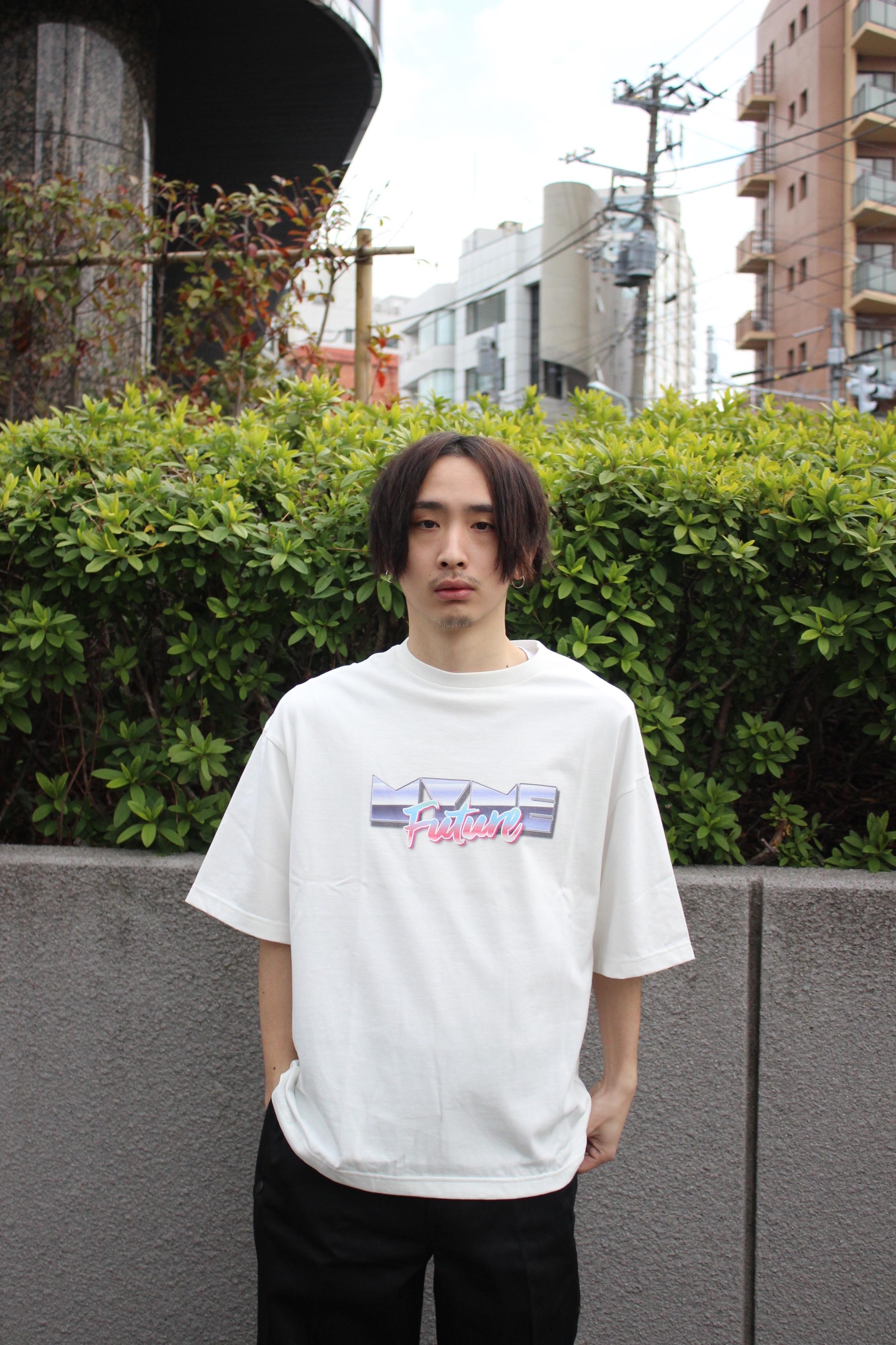 MYne Future T-shirt / WHITE - 画像2