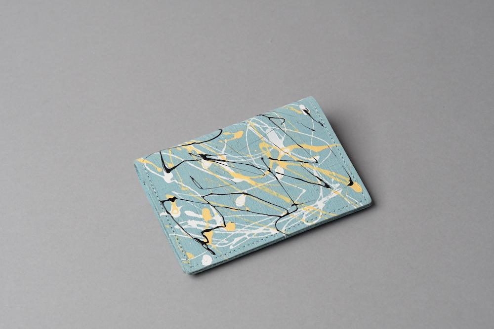 カードケース □drip ライトブルー□ ittemmono - 画像1