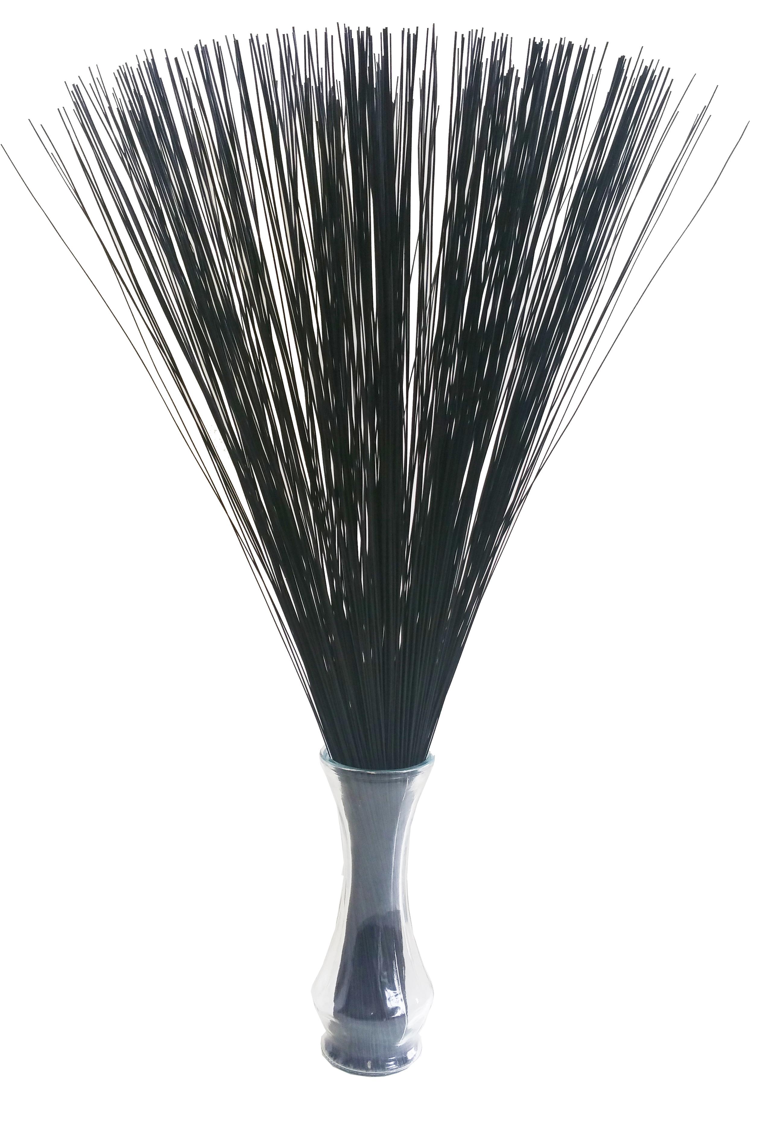 【イ草フラワー ブラック】Rush Grass Flower BLACK 70cm
