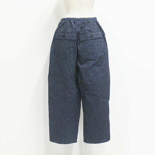 【メーカー完売】 ORDINARY FITS オーディナリーフィッツ JAMES PANTS stripe ジェームスパンツ レディース パンツ ロング ストライプ ゆったり 通販 (品番of-p041)