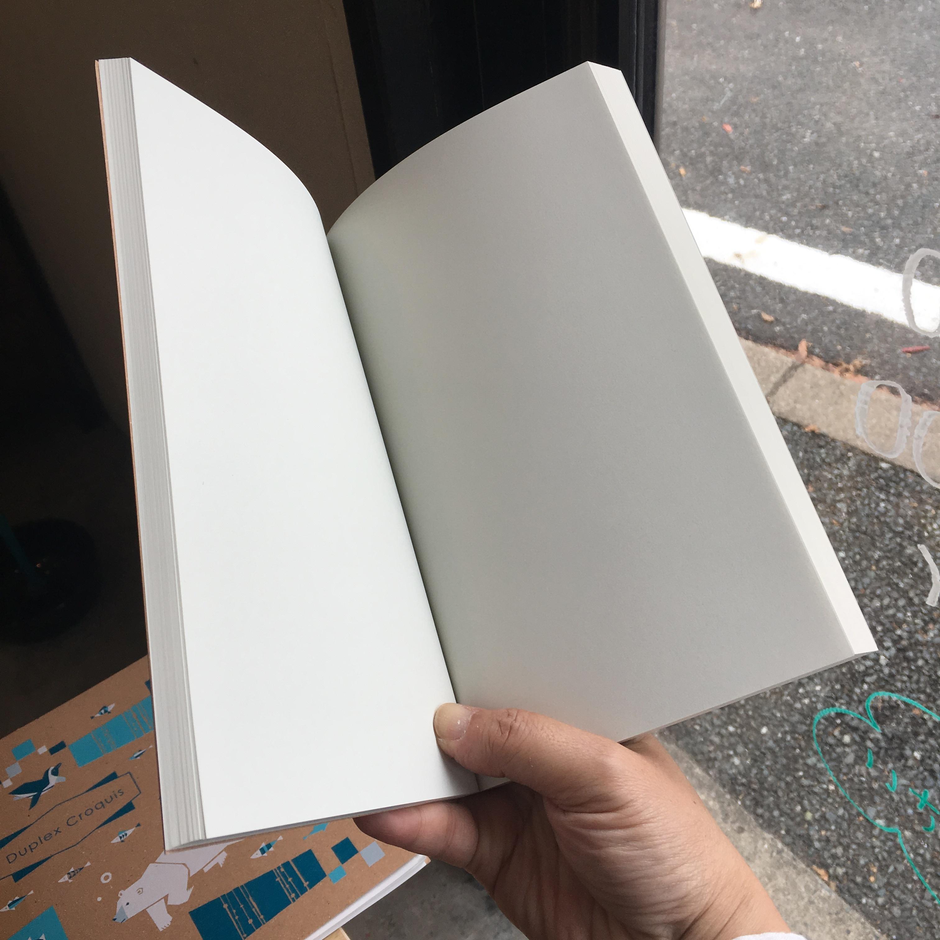 【メール便可】ドローイングノートブック・DRAWING NOTEBOOK