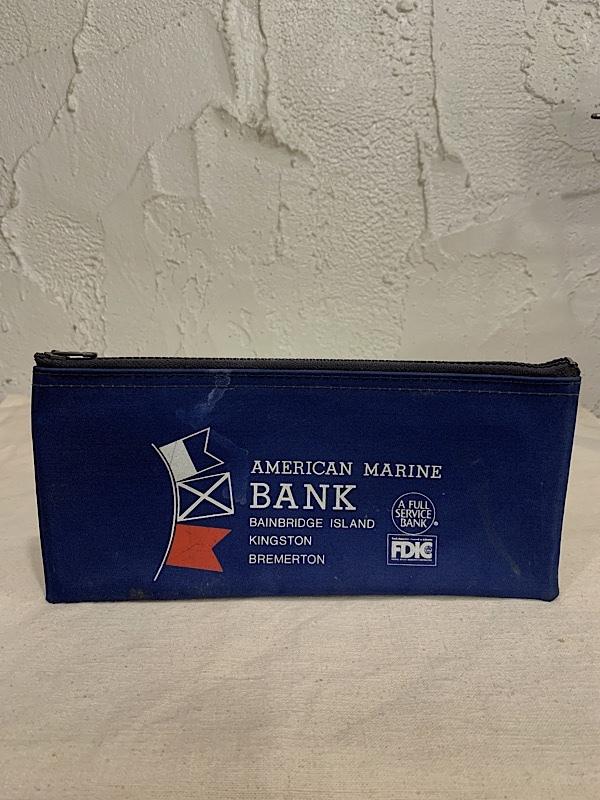 "BANK BAG "" AMERICAN MARINE BANK """