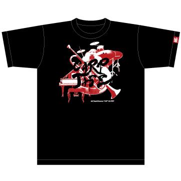 CARPJAZZ オリジナルTシャツ デザイン/黒地
