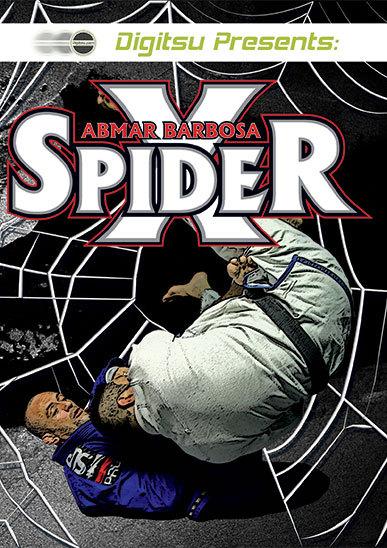 アブマー・バルボーザ スパイダーX  2枚組 ブラジリアン柔術教則DVD  Abmar Barbosa Spider-X 2 DVD Set