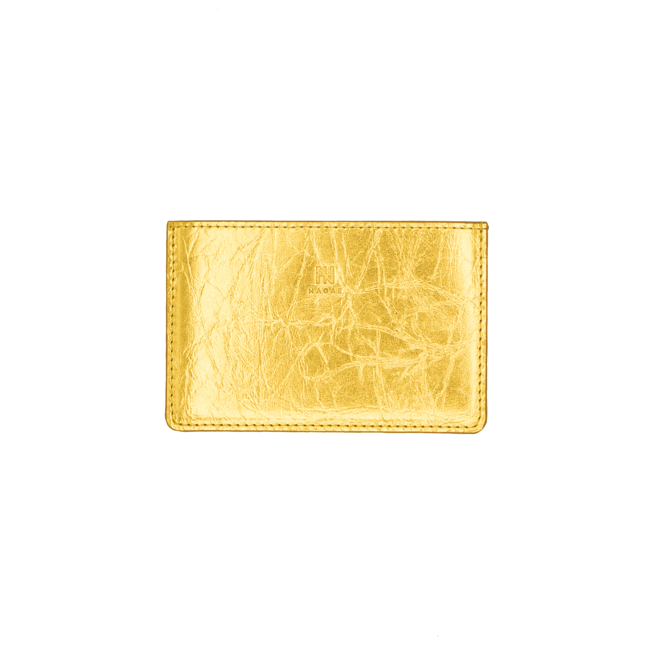 《名刺入れ》TIN BREATH Business card case single Gold