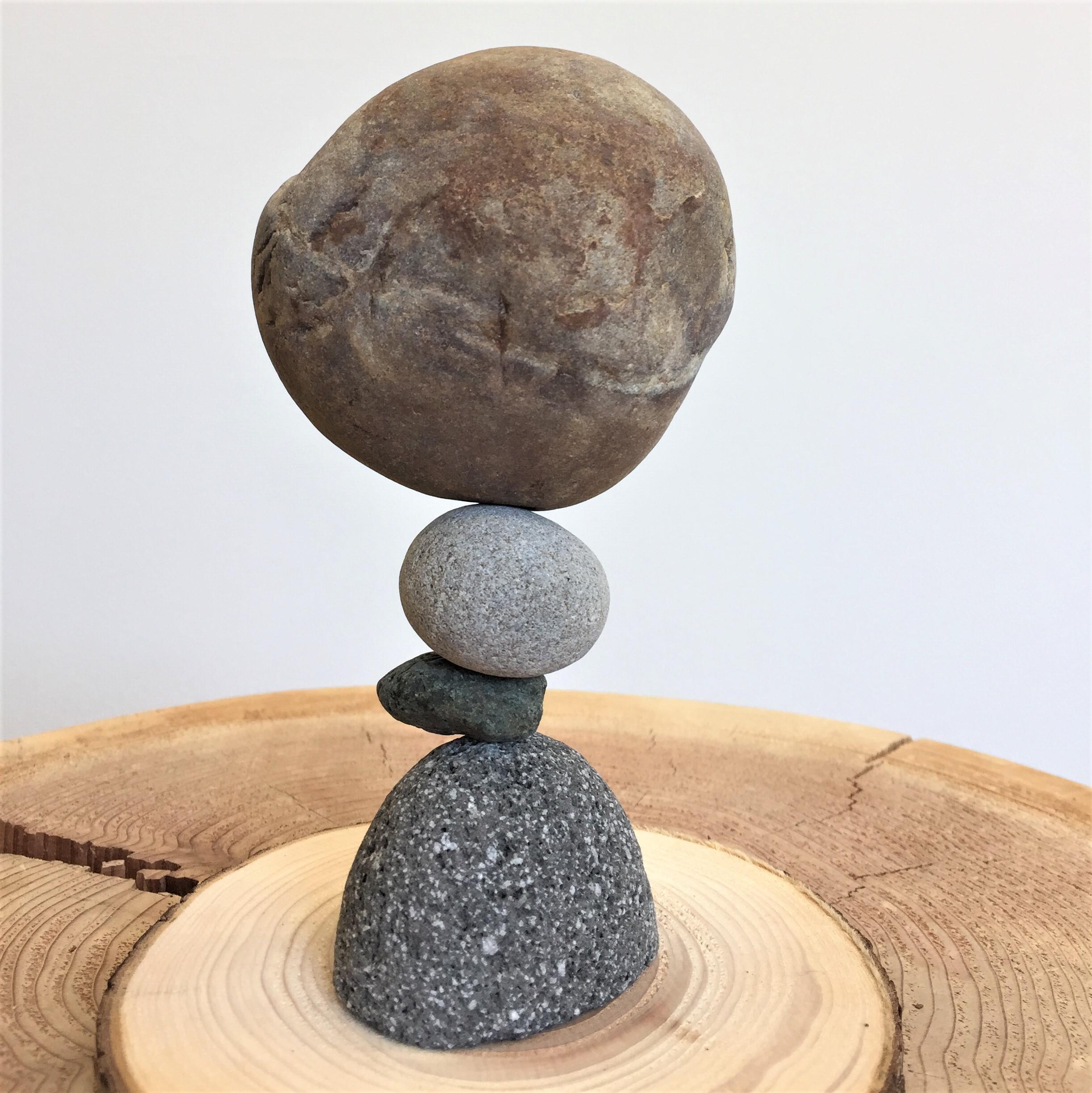 「マルタ座」 かませ石セット(皮つき)[m8-1111b]