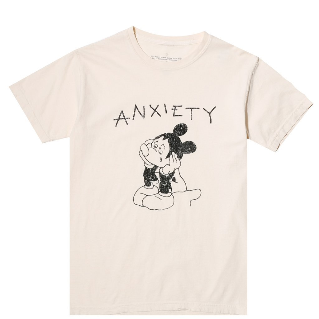 JUNGLES | ANXIETY SS TEE / IVORY