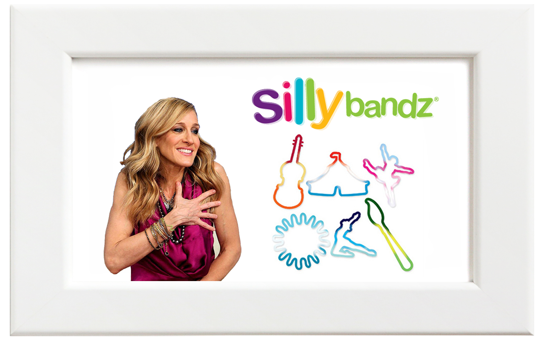 Silly bandz/シリーバンズ アート