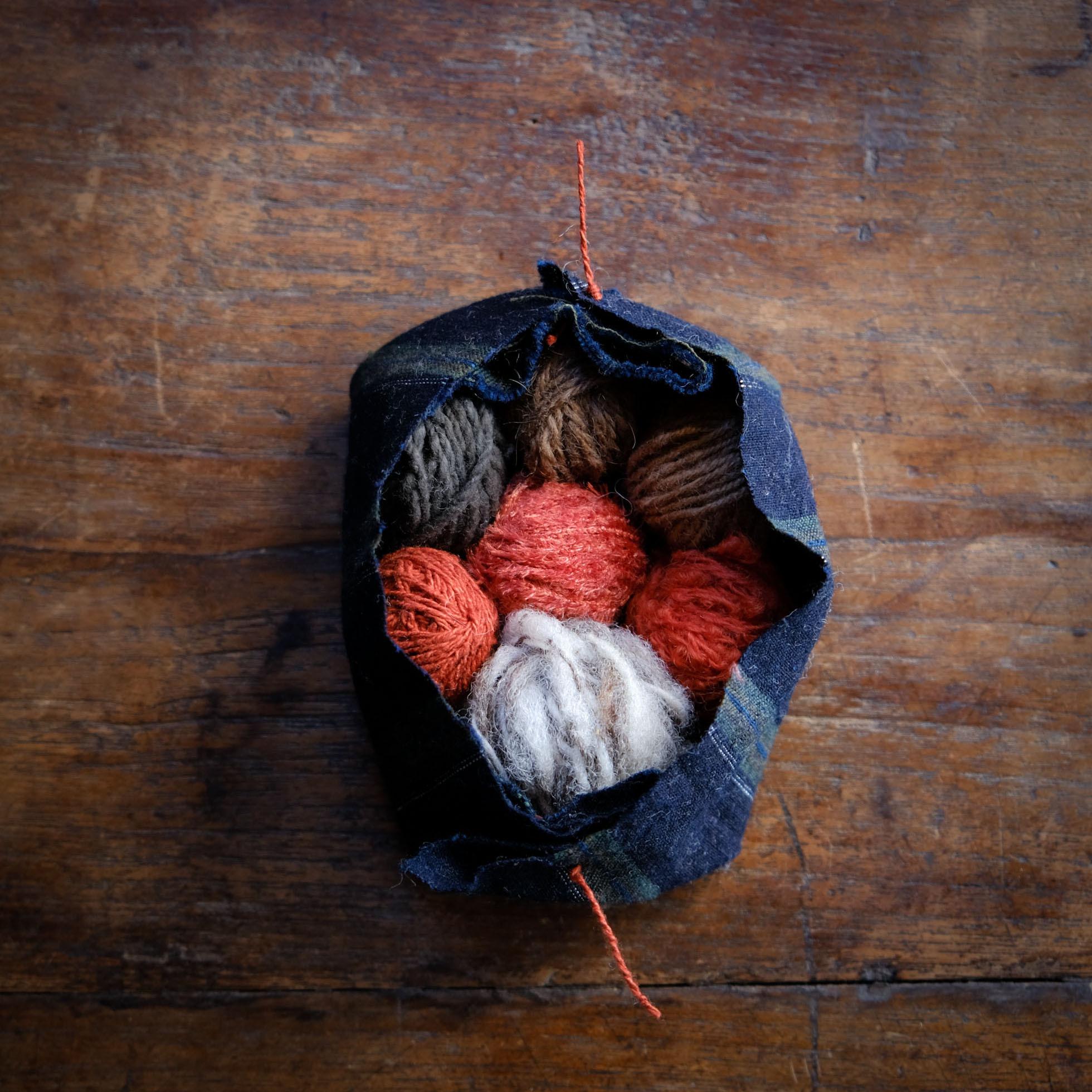 自然の糸玉パレット 16