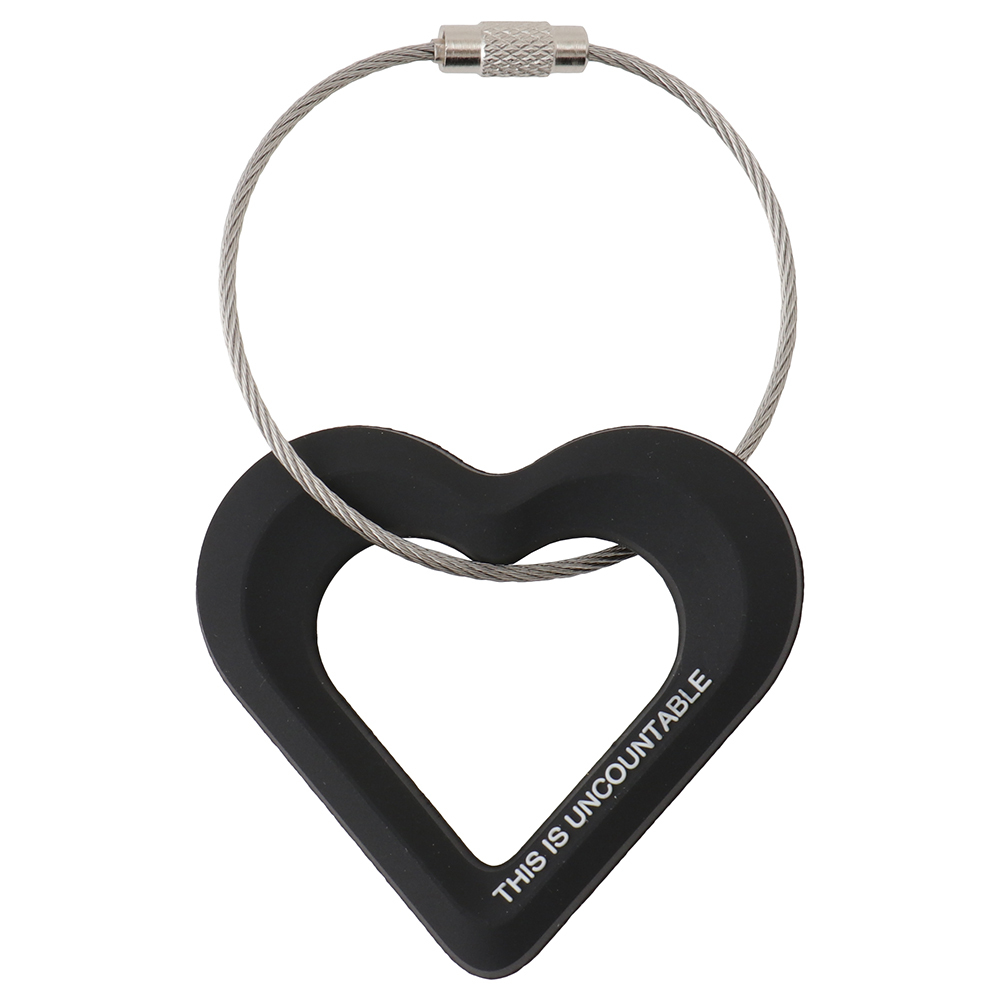 Wire Ring Key Chain (heart) - 画像1