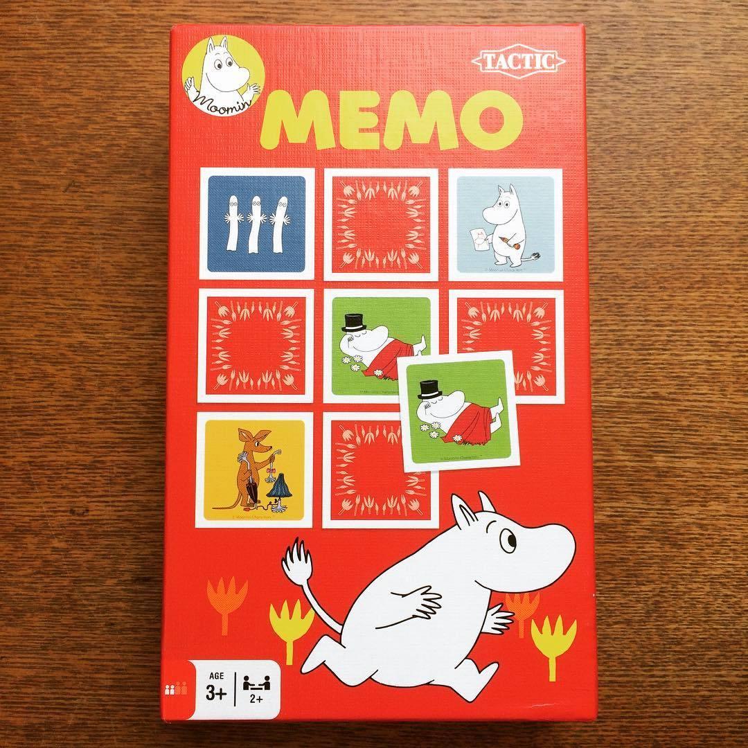 おもちゃ「ムーミン メモリーゲーム」  - 画像1