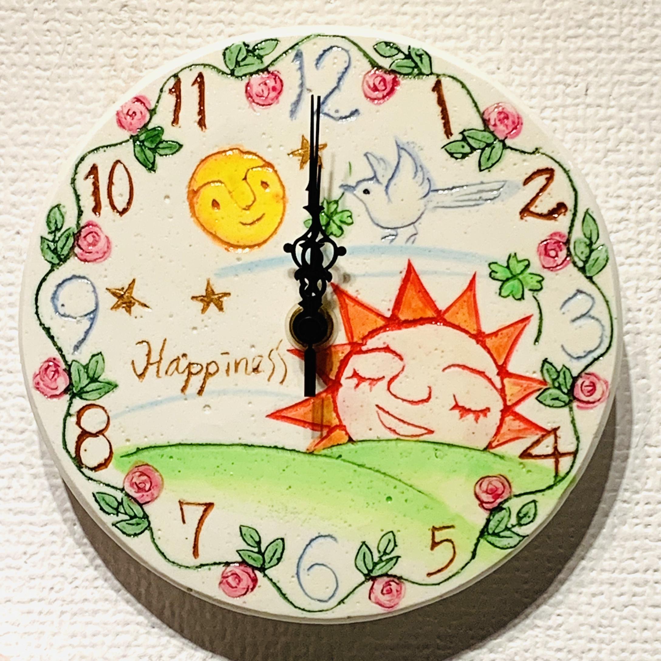 太陽と月と薔薇(15cm)