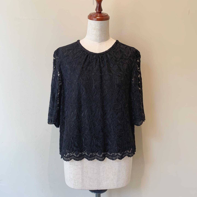 vintage short length lace tops