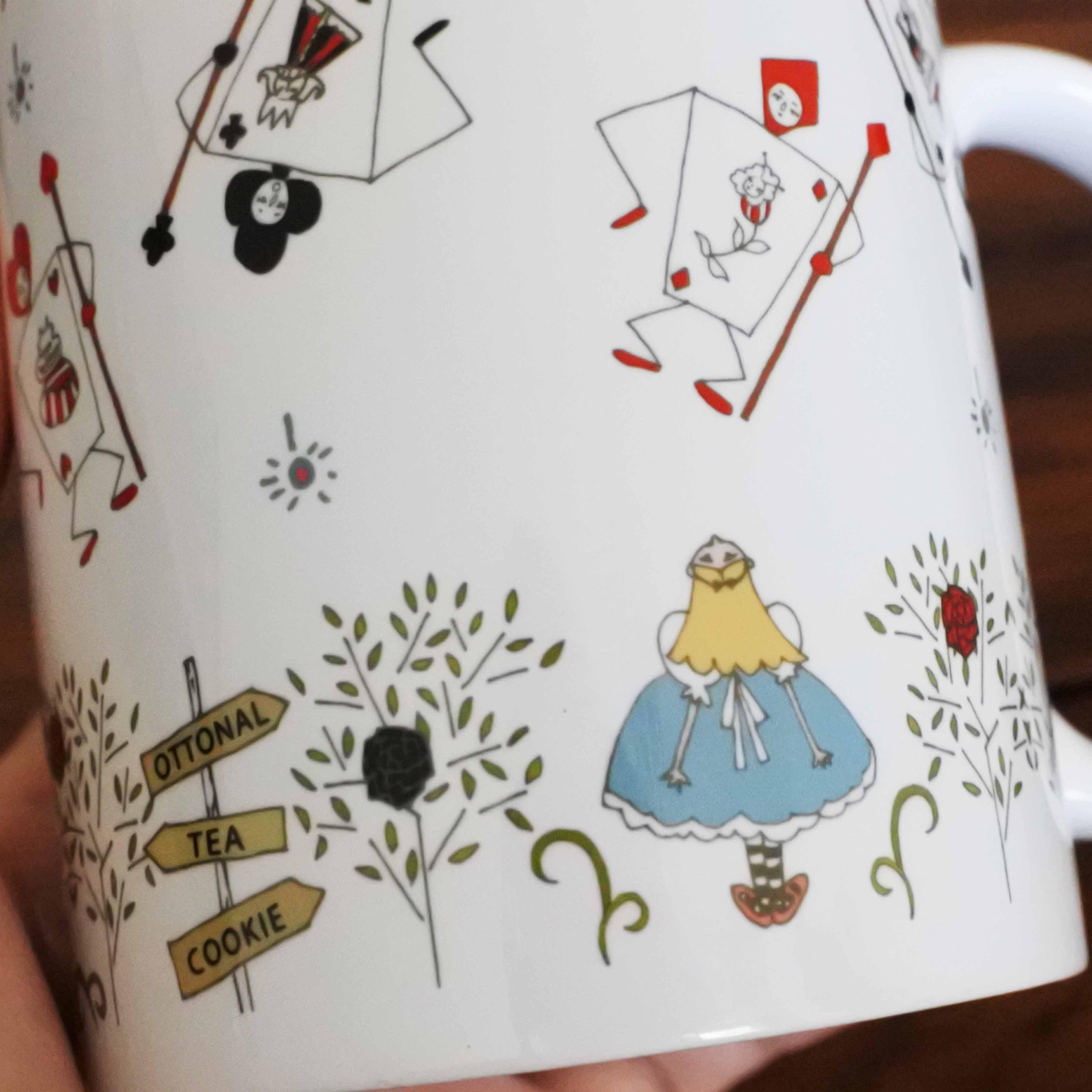アリス マグカップ - 画像4