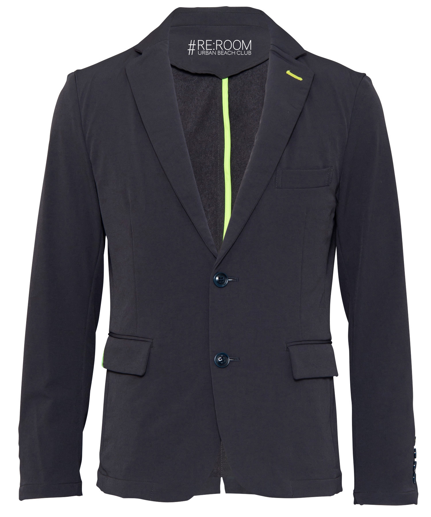 STRETCH SLIM TAILORED JACKET[RUJ001]