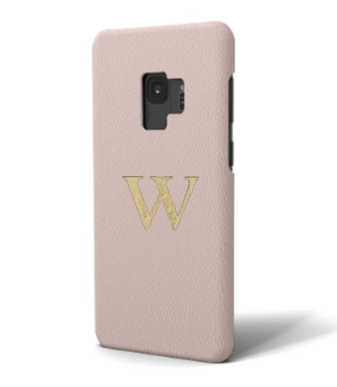 Galaxy Premium Smooth Leather Case (Cotton Pink)