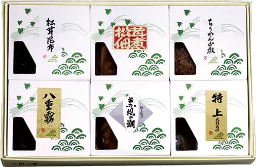 KN-70 松茸佃煮詰合せ(6品) - 画像1