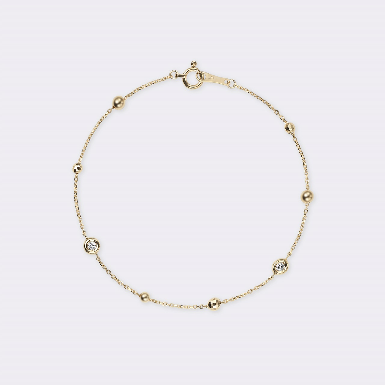 Lacrima Bracelet K18YG(ラクリマブレスレット K18イエローゴールド)