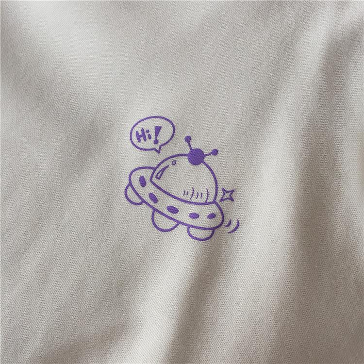 くまさんとUFO セーター【bear and UFO sweater】