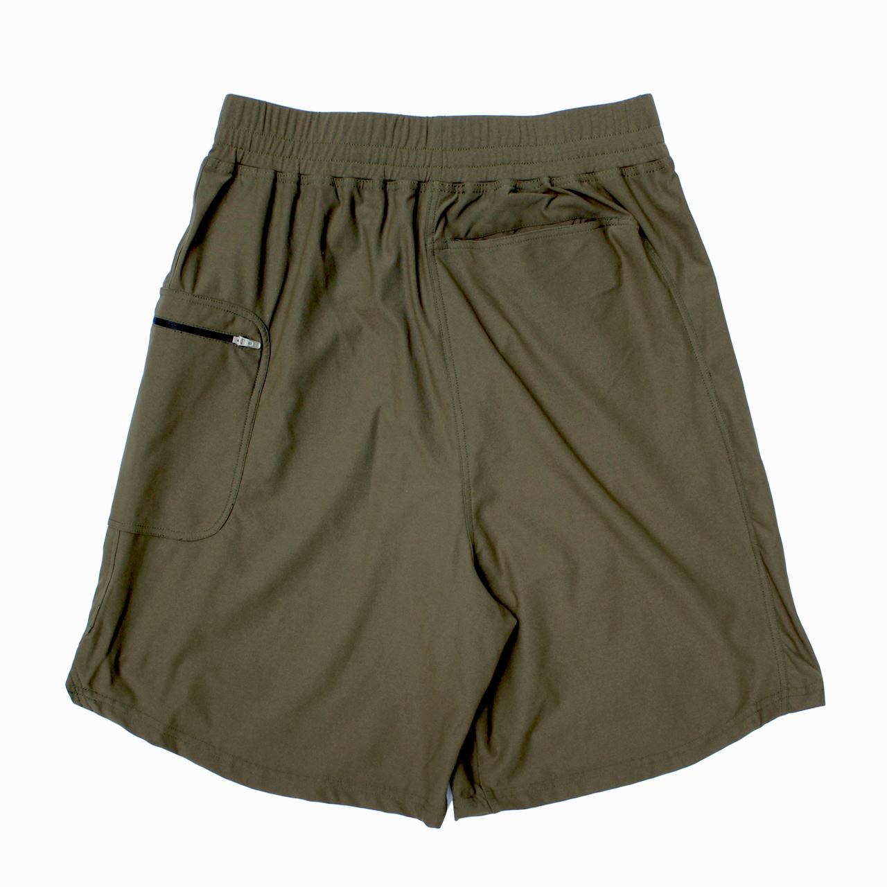 LOGO street shorts <Khaki×Khaki>  - 画像2