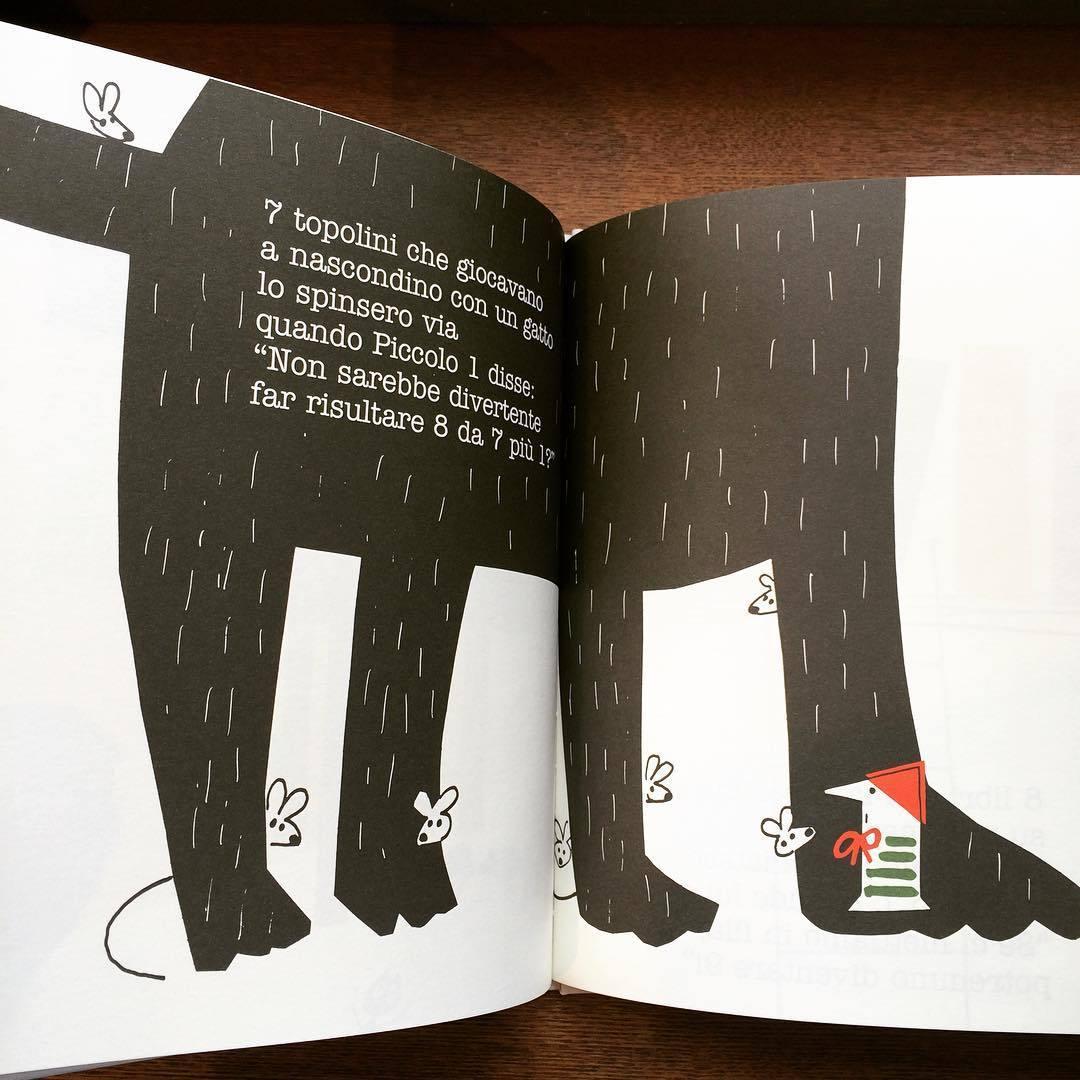 ポール・ランド絵本(イタリア語版)「Little 1 (Piccolo 1)/Ann Rand、Paul Rand」 - 画像3