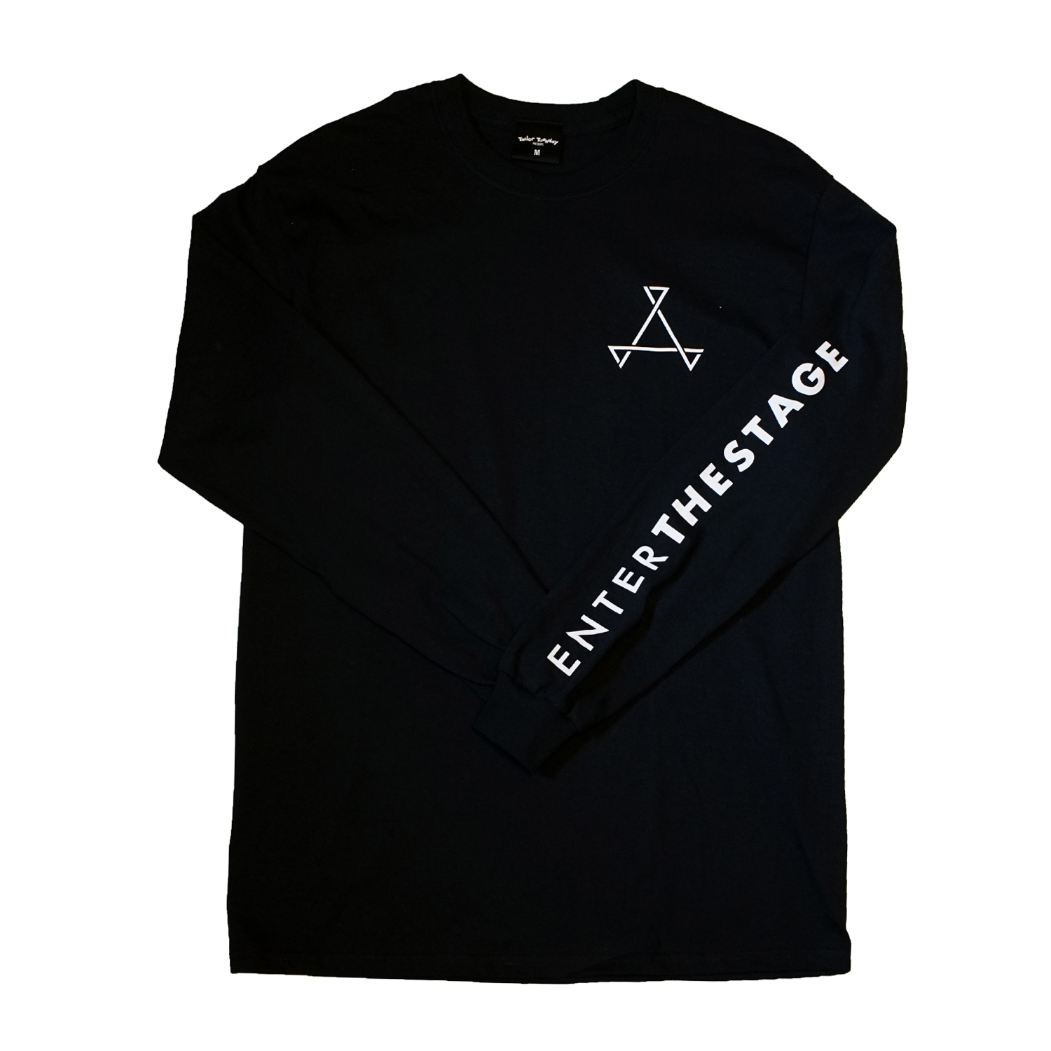 THISONE x ENTER THE STAGE L/S TEE (BLACK)