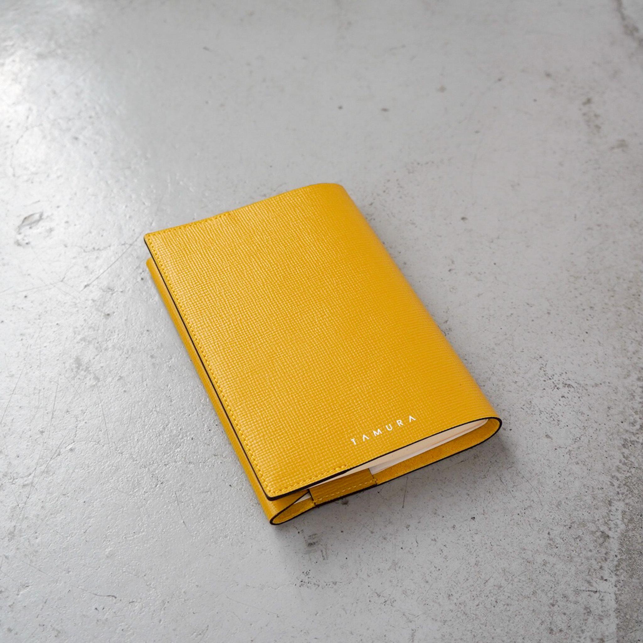 BOOK COVER(文庫サイズ)マスタード × イエロー