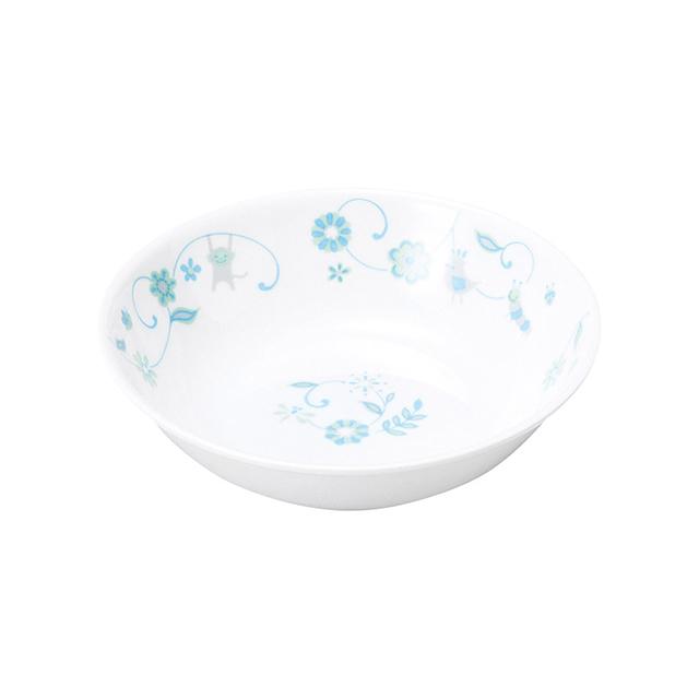 強化磁器 深小皿 サラサ・ブルー 【1159-1320】