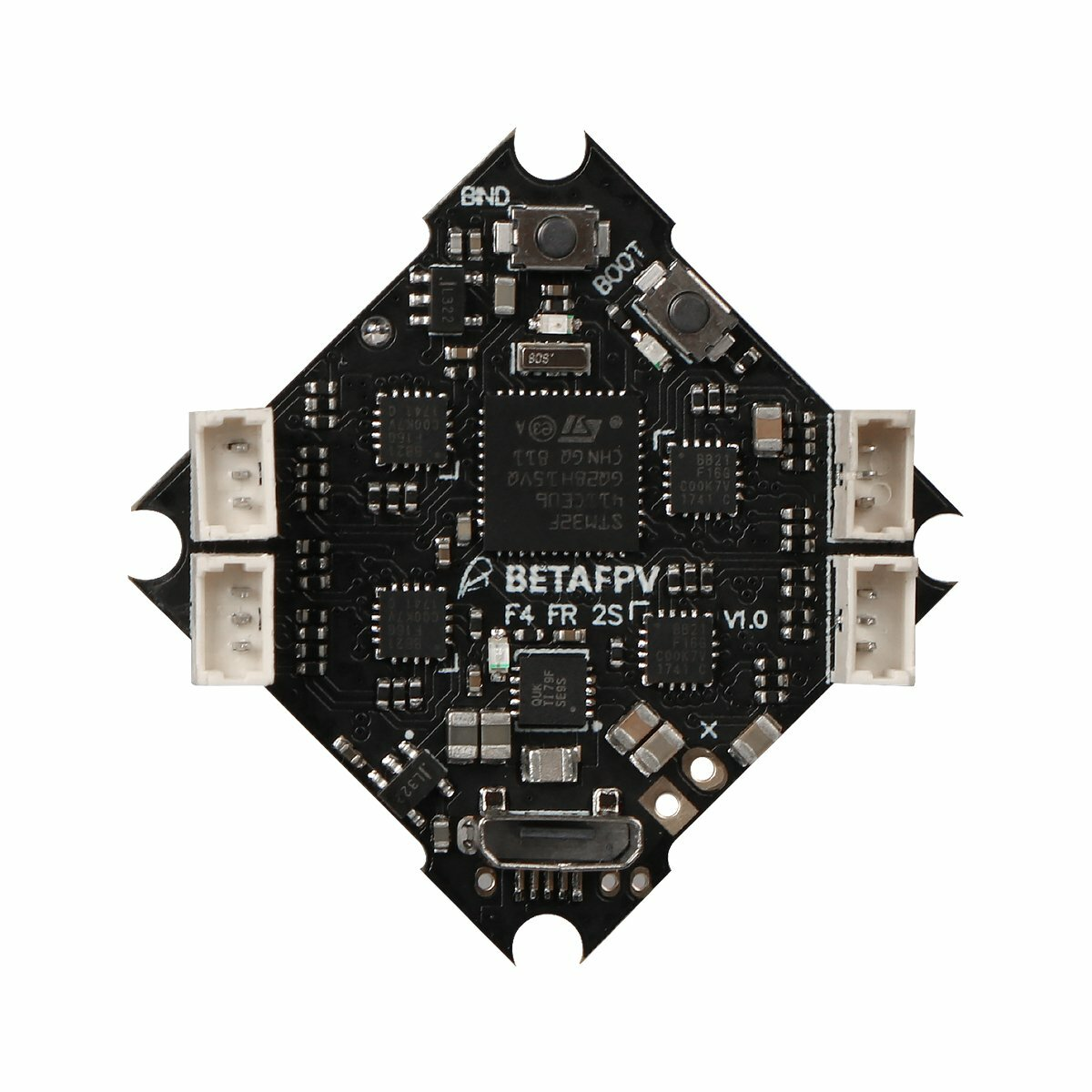 F4 2S AIO Brushless Flight Controller (SPI Futaba)