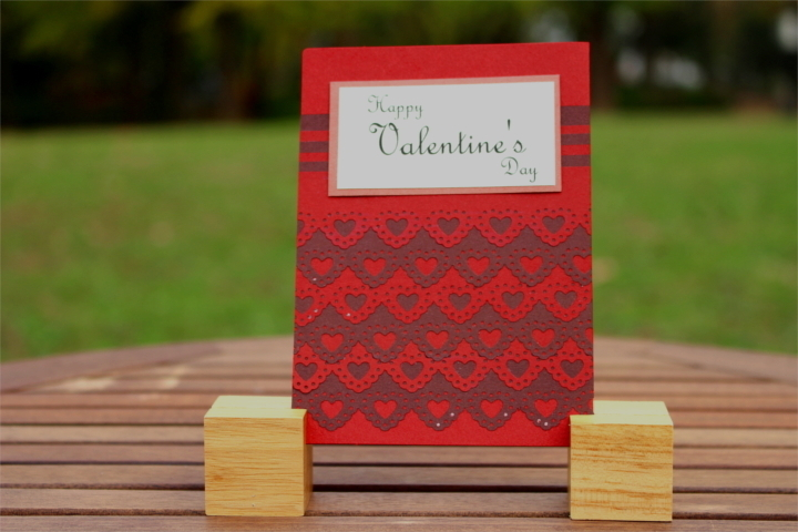 "Shiori のメッセージカード ""Happy Valentine's Day""_1"