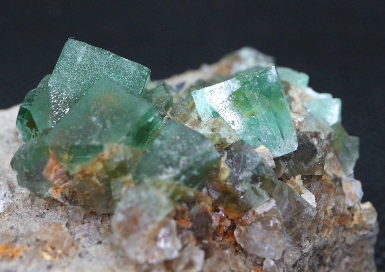 ロジャリー鉱山! グリーン フローライト 蛍石 原石 イギリス産 64,7g  FL036