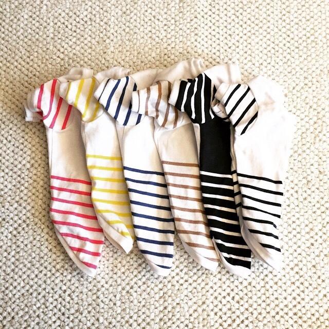 ボーダーTシャツ(長袖)