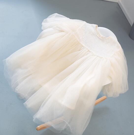 52c4487cfc67d ...  一部即納 プリンセス ワンピース 子供服 長袖 キッズ 女の子 フリル 春秋 スカート チュール