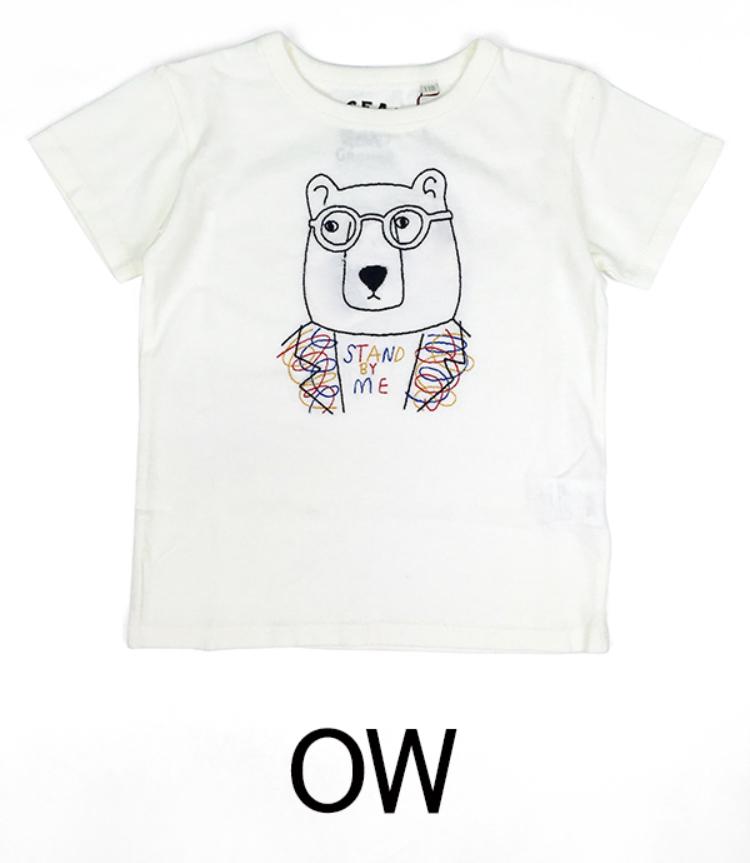OCEAN&GROUND / 刺繍Tシャツ