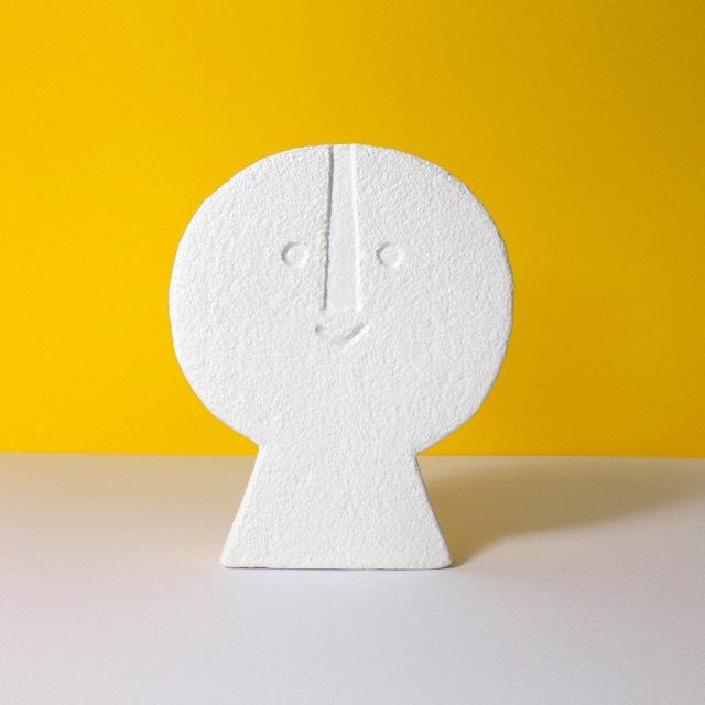 Peter Slight ceramics Medium Head FLAT FRONT / MH05