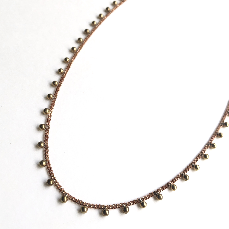 Tsubu chain Necklace NC-024