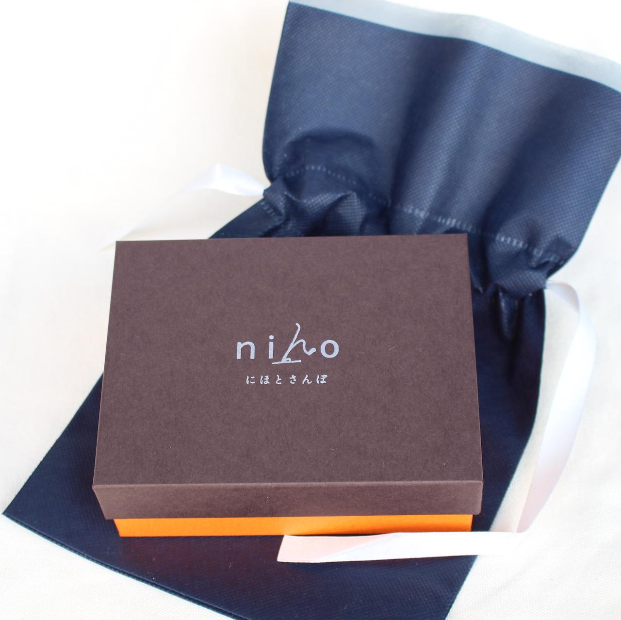 【財布】 - niho - 小銭が取り出しやすい財布専用 ギフトラッピング