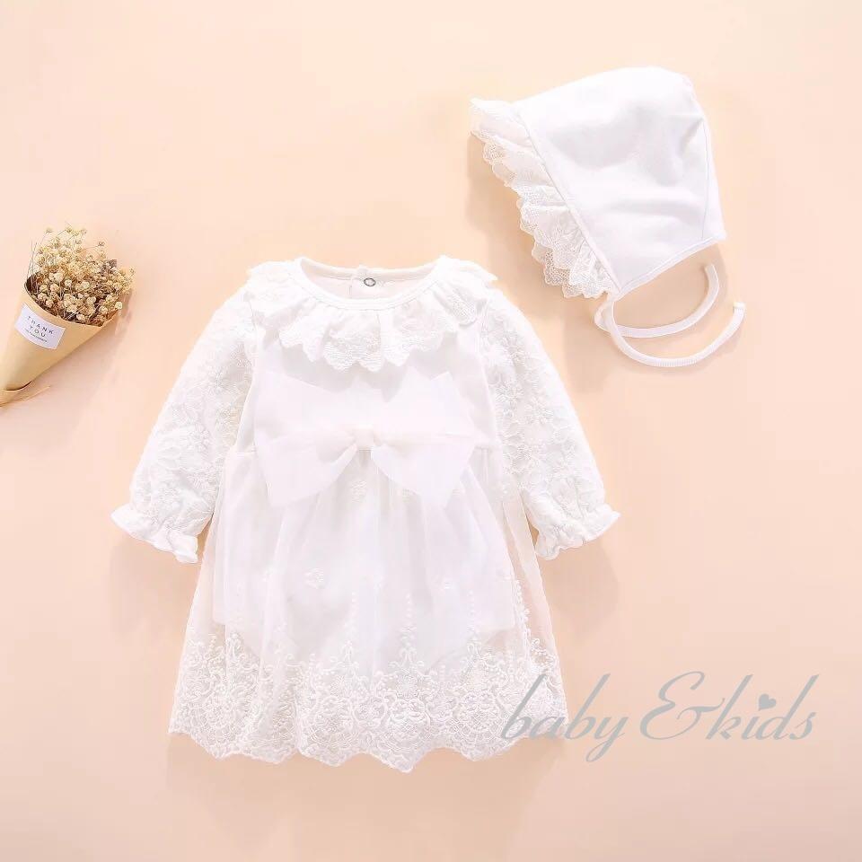 7dfa462618b13 ドレスフォーマルチュールドレスワンピース韓国子供服フード付き2点セット赤ちゃんセレモニードレスロンパース