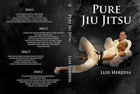 ルイス・ヘレディア ピュア柔術  DVD4枚セット|ブラジリアン柔術教則DVD