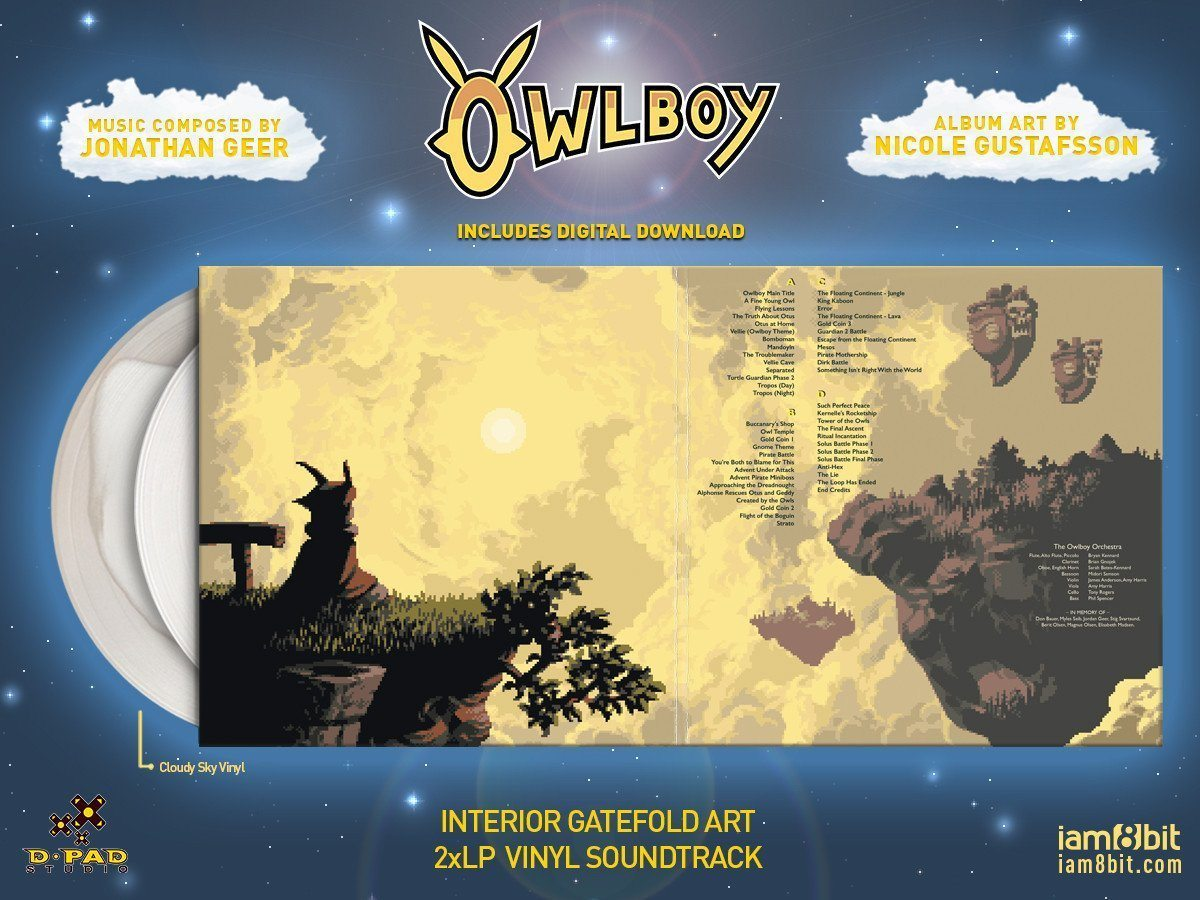 【オウルボーイ】Owlboy Vinyl Soundtrack 2xLP - 画像3
