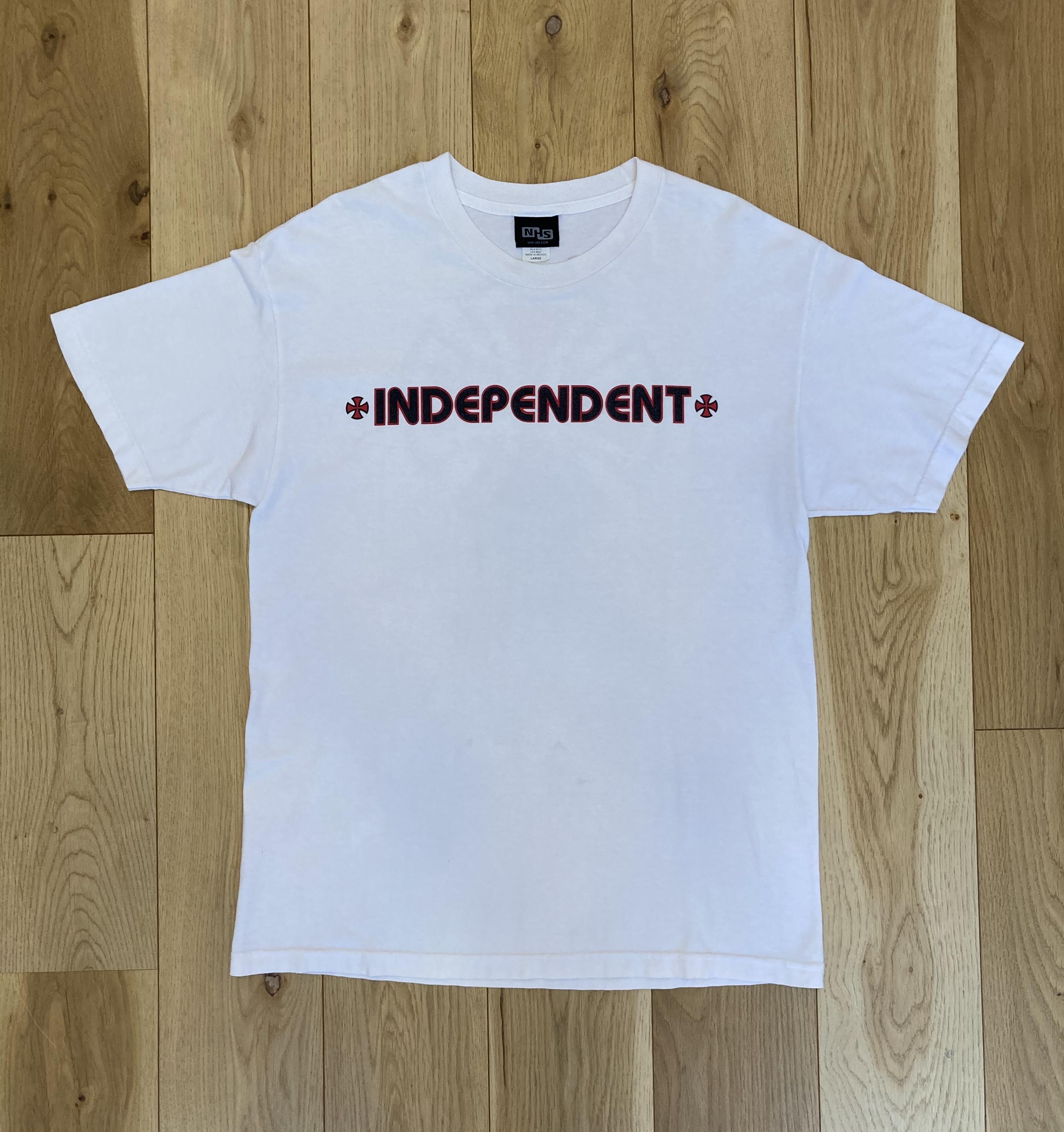 INDEPENDENT IRON CROSS Logo Tee