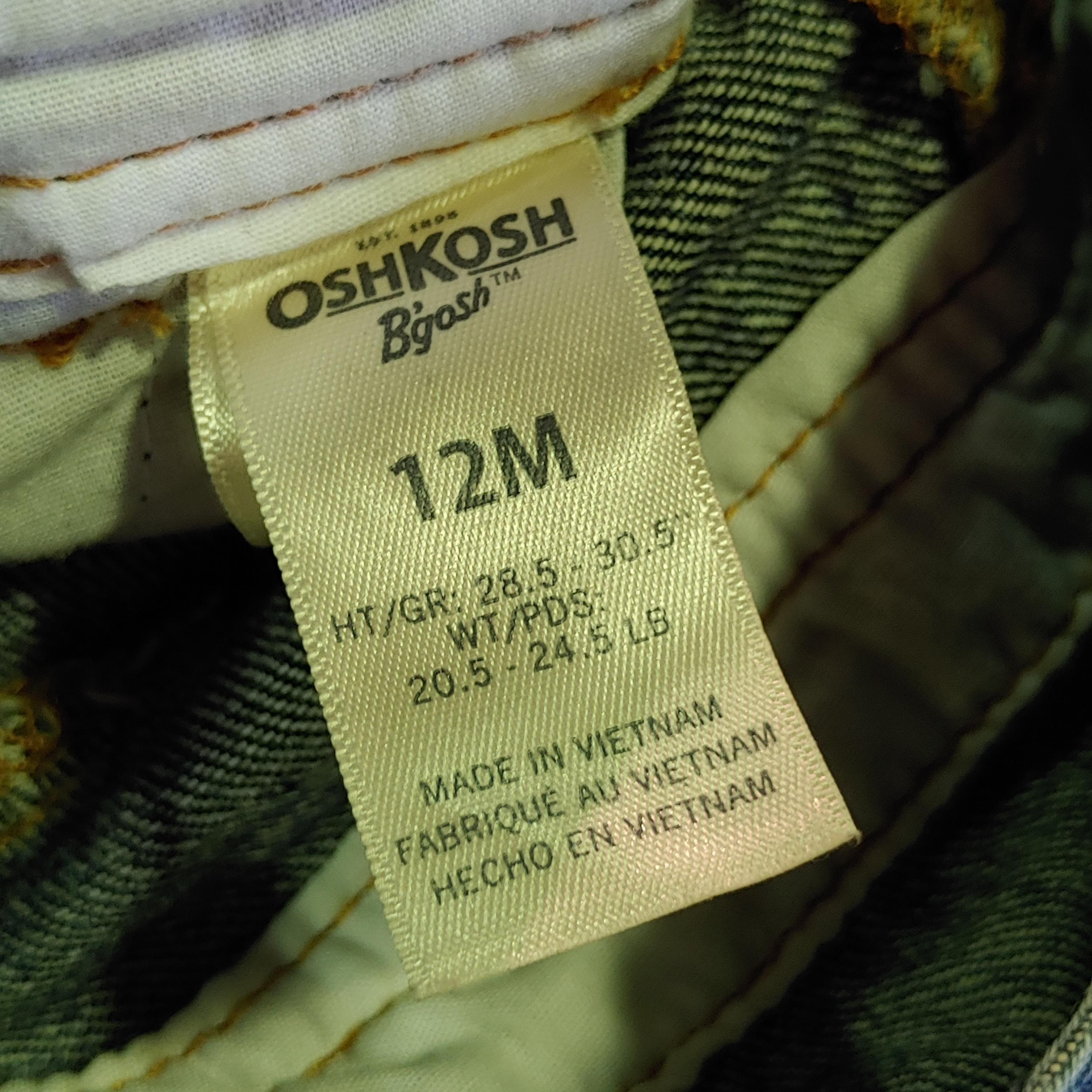 【BABY USED】Oshkosh Overall*12M