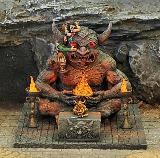 宝石の眼を持つ悪魔の彫像 - 画像4
